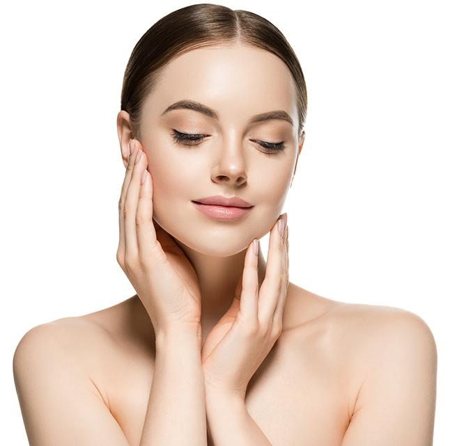 Women undergone Augmented Chin treatment
