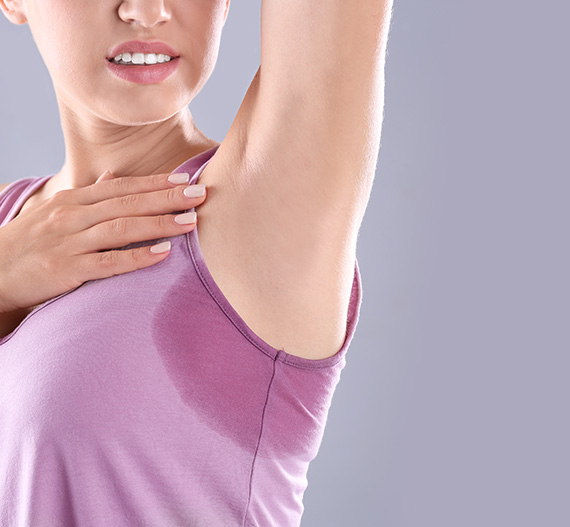 Women with Excessive sweating disorder