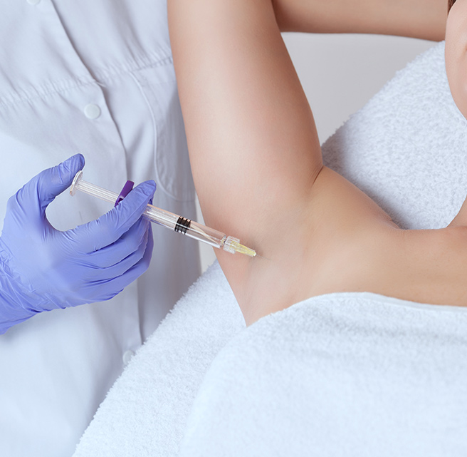 Excessive sweating treatment sharjah