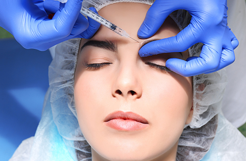 Non Surgical Brow lift treatment